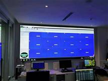 46寸液晶大屏幕拼接屏互动触摸屏投影用于***门派出所