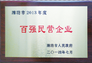 百强民营企业