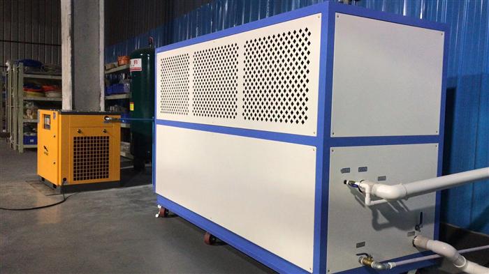 深圳某日資企業使用JINBAO永磁變頻螺桿空壓機