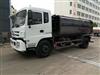 东风挂桶垃圾车带压缩对接垃圾运输车生产中