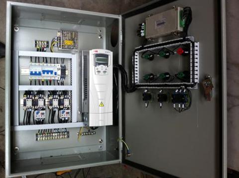 ABB恒压供水控制柜