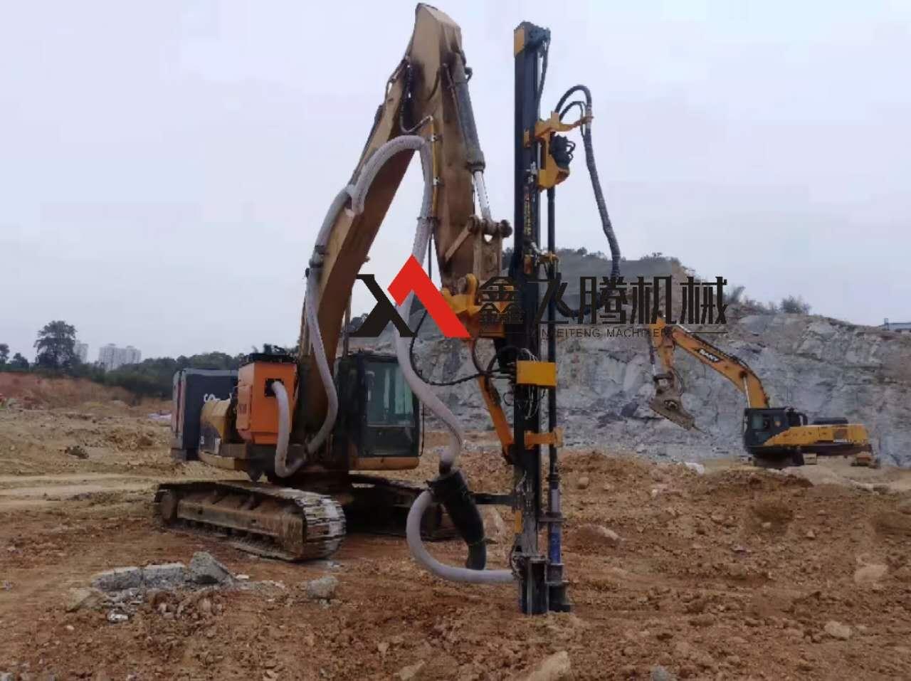 挖改液压钻机