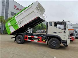 福田瑞沃厢式垃圾车(垃圾转运车)