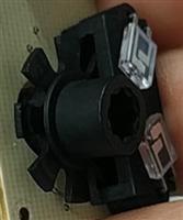 计速或计数光轮应用侧向型红外对管