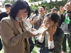 深圳游客在乐水山庄举行公司活动精彩瞬间