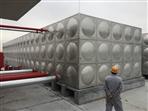 江门新会105立方不锈钢水箱完工交收