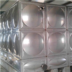 从化62T不锈钢水箱安装完工