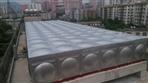 云浮新兴64㎡立方304不锈钢水箱安装完工