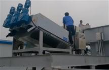 斜筛式固液分离机运行案例