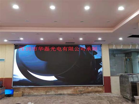 深圳中英街旺富酒楼室内P3全彩