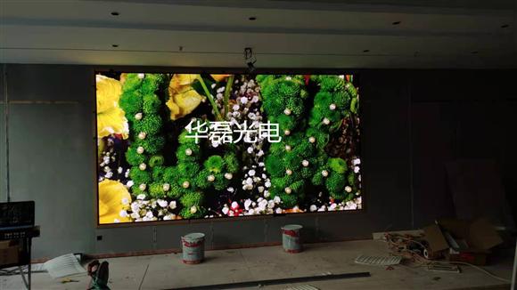 深圳某培训机构室内2.5全彩屏