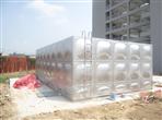清远180立方不锈钢水箱工程完工交收