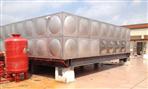 茂名200立方不锈钢水箱安装完工交收