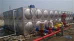 茂名信宜市80吨不锈钢工程水箱完工项目