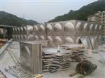 云浮罗定120吨不锈钢工程水箱施工项目