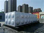 清远英德2台80吨不锈钢水箱安装完工