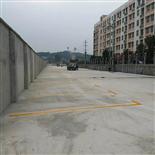 长沙市东山街道夜市停车场建设