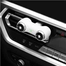 Air purifier for automobile air outlet