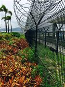 深圳寶安國際機場防護網安裝工程