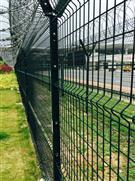 沙井工業區圍網安裝現場